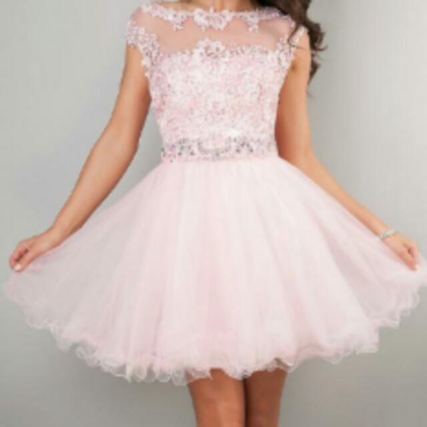 prom dress short dress lace dress