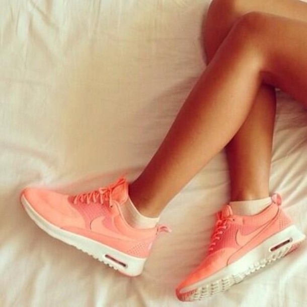 New Nike Free Series of lovers Training Shoes Pink orange bbdfbf84a7