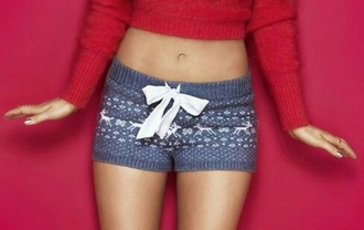 shorts ariana grande red sweater blue shorts cropped sweater blouse editorial sweater holidays short navy white pattern pajamas etam phone cover lovely jane seymour bows comfy pickle soft shorts cozy pj shorts winter shorts dear chritmas cardigan pants blue white red outfit top tumblr shorts dress christmas pyjamas cute small same