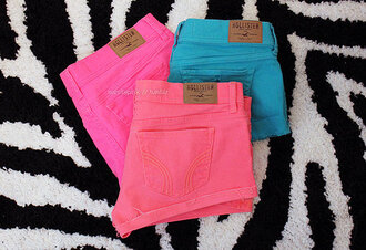 shorts color/pattern hollister