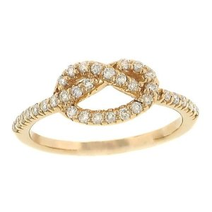 pretzel ring jewelry