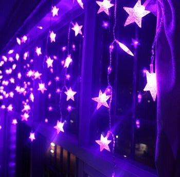 Ac220v 3 5m Ice Led String Light New Year Indoor Lighting Garland Star Modeling Led Luminarias