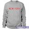 New york sweatshirt - teenamycs