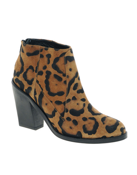 shoes boots leopard print surface to air