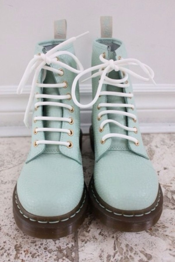 shoes lime leather green DrMartens pretty gorgeous rock