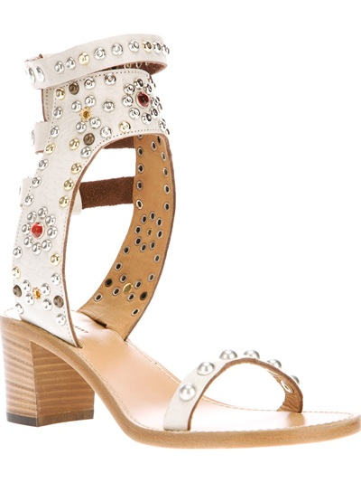 Isabel Marant Studded Gladiator Sandal -  - Farfetch.com
