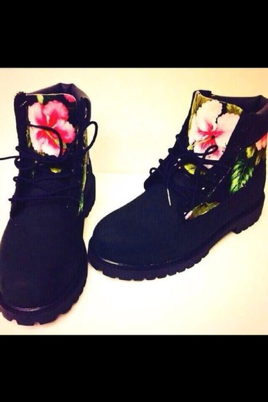 fashion black swag timberlands custom timberlands shoes