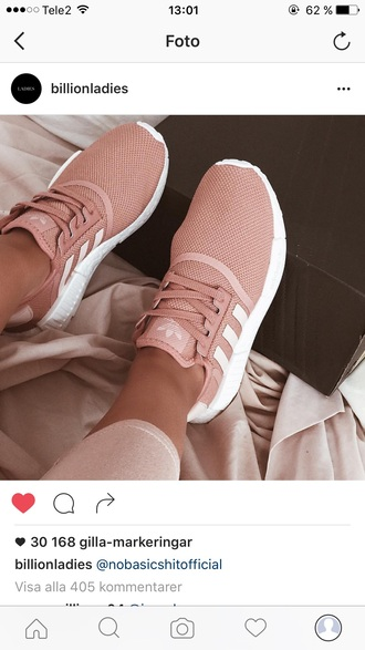 shoes adidas pink mauve baby pink adidas shoes sneakers trainers sportswear pink sneakers low top sneakers