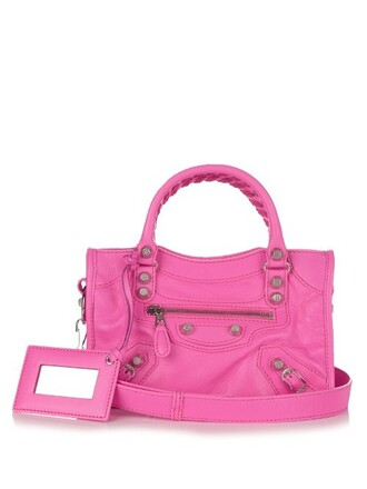 cross mini classic bag leather pink