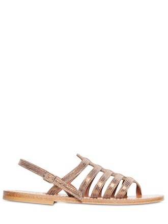 sandals leather sandals leather bronze shoes