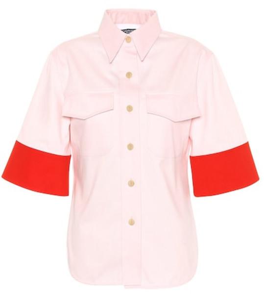 Calvin Klein 205W39NYC Cotton top in pink