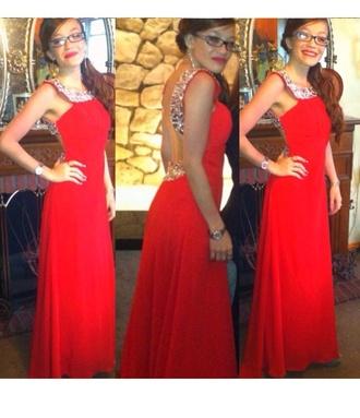 dress red dress red kanye west high heels silver embellished dress embellishment pretty gown prom dress designer backless dress backless open back open back dresses