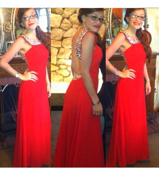 Red and Silver Heels for Prom Dresses