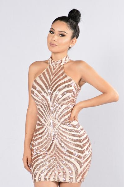 60f81a43819ff Diva Vibes Dress - Blush | Fashion Nova