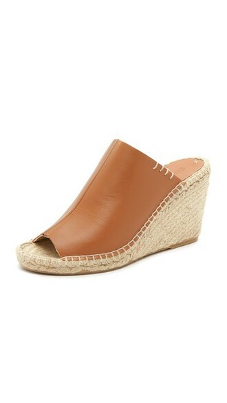 tan wedges shoes