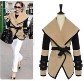 jacket,camel jacket,celebrity style steal,belted jacket,cute,coat,fashion,cardigan,clothes,kawaii,girly,fall outfits,top