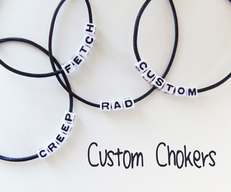 jewels word choker message choker custom choker grunge choker leatherchoker rad choker creep choker fetch choker whatever choker 90s choker 90s style grunge genuine leather initial choker zodiac choker adjustable choker letter choker bead choker bead letter choker word necklace custom necklace personalized choker personalized jewelry personalized gifts
