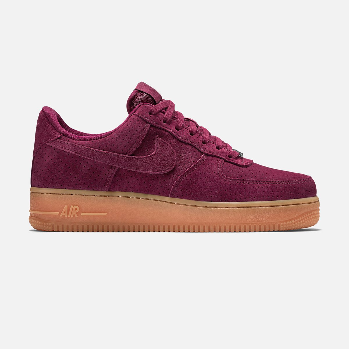 nike air force 1 garnet