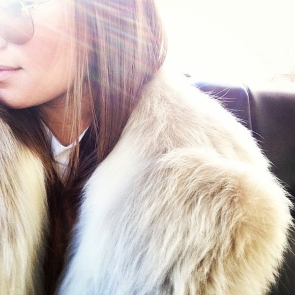 jacket faux fur faux fur jacket tumblr