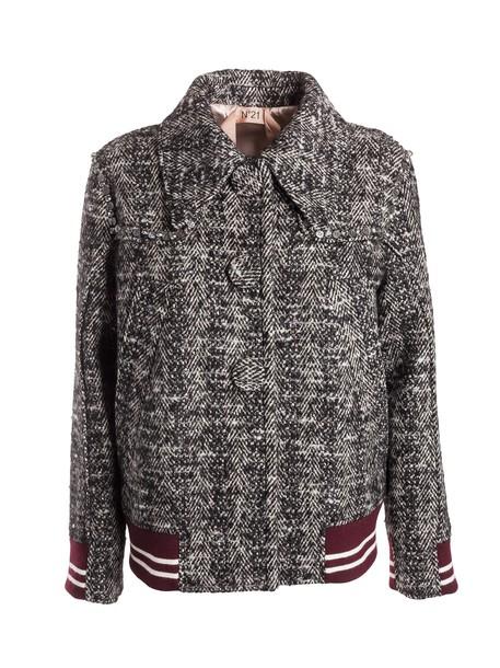 N.21 chevron multicolor jacket