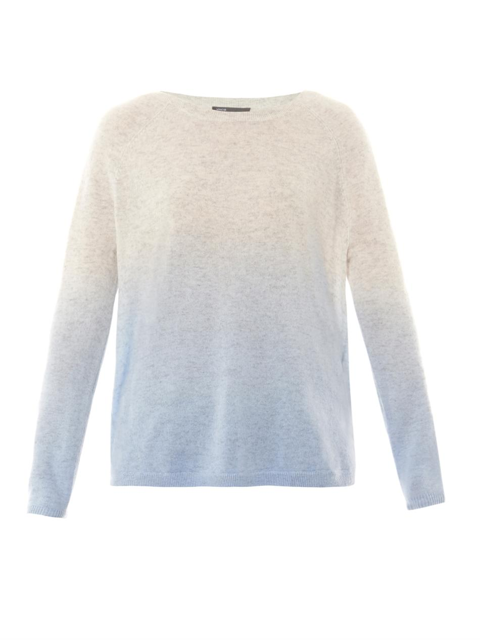 Dip Dye wool-cashmere sweater | Vince | MATCHESFASHION.COM