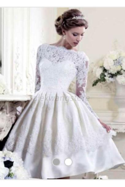 dress little white dress for cocktail or weddingng short dress bridal shower