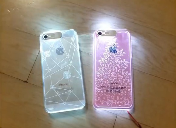 iphone case phone case light
