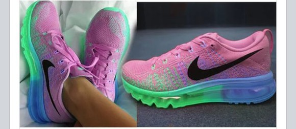 shoes green shoes pink nikes blue nikes air max nike running shoes