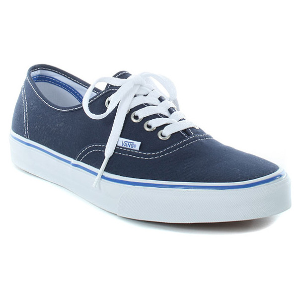 vans dress blue