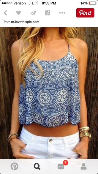 tank top style cute top hippie hipster top crop tops tribal shirt t-shirt top