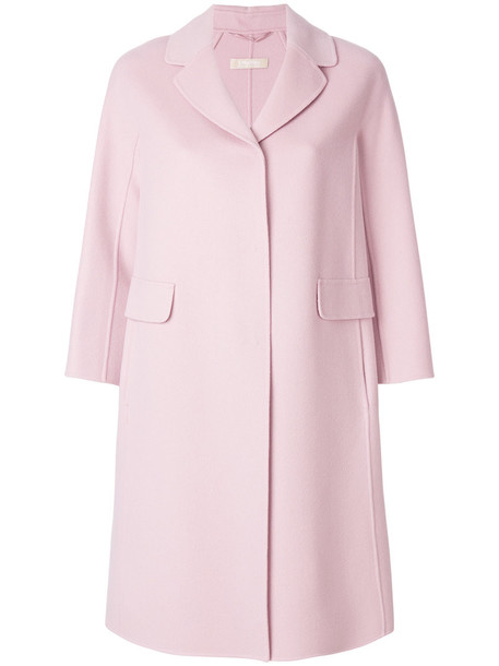 'S Max Mara coat women wool purple pink