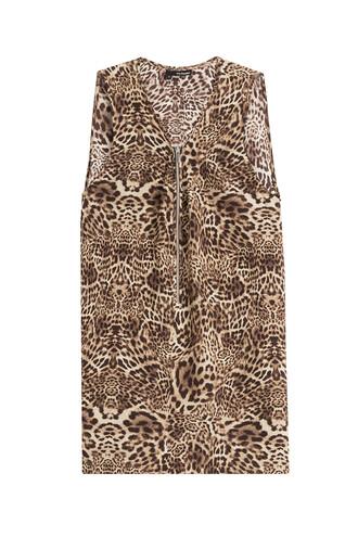 top leopard print top print silk leopard print animal