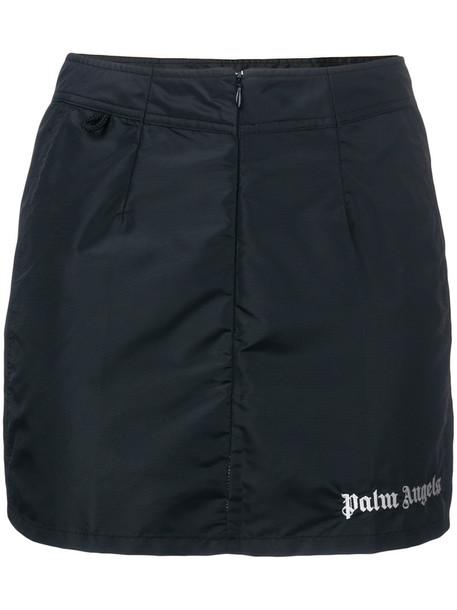Palm Angels skirt mini skirt mini women black