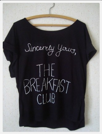 t-shirt breakfast club shirt