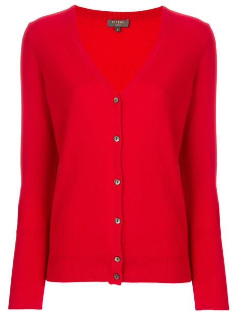 N.Peal cardigan cardigan women red sweater