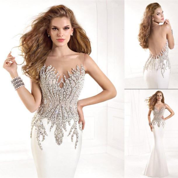 dress, evening dress, mermaid prom dress, prom dress, prom dress ...