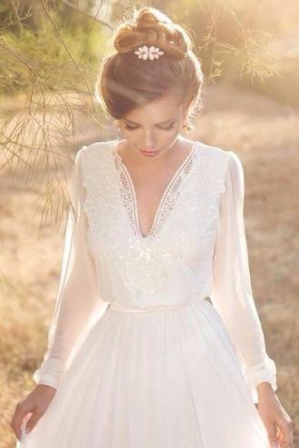 dress cute dress white dress girly dress summer summer dress light swimwear sweater style spring silk hair accessory romantic