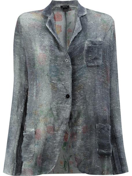AVANT TOI cardigan cardigan style women cotton blue sweater