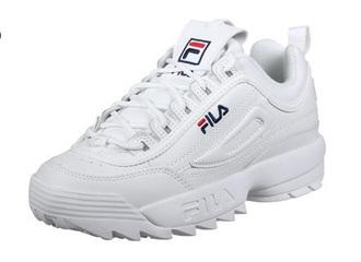 shoes white fila fila sneakers