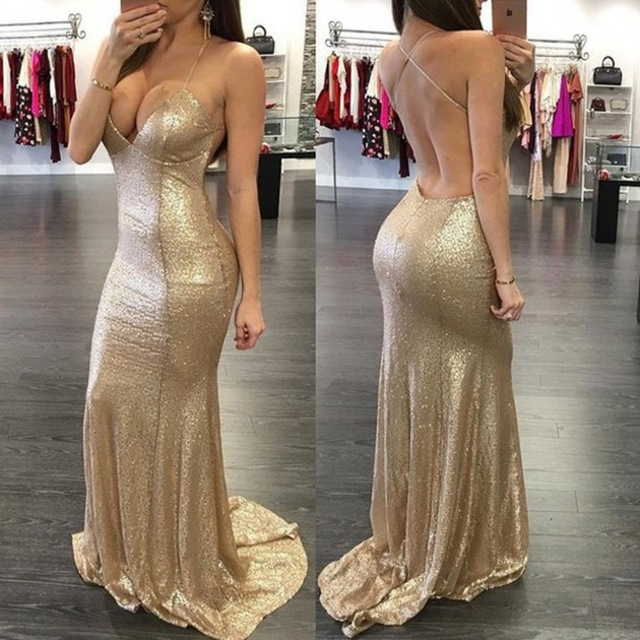 Aliexpress.com : Buy Sexy Sequin Mermaid Vestidos De Baile Spaghetti Straps Criss Cross Back Party Dresses Woman Prom Dresses Mermaid Vestido Longo from Reliable dresses for garden wedding suppliers on Love Kiss Evening Dress and Wedding Dress Manufactory | Alibaba Group