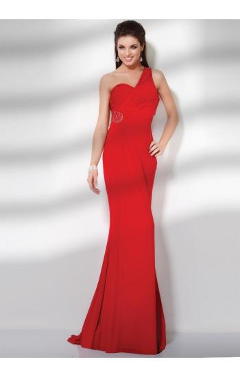 Jovani 9219 one shoulder prom dress onlineformals.com