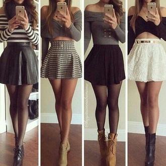 blouse heel boots skirtandtop top skirt style boots shirt