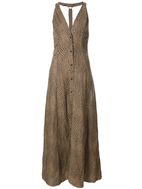 Dvf Diane Von Furstenberg dress maxi dress maxi women brown