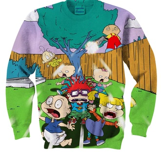 sweater stewie griffin family guy rugrats nickelodeon cartoon