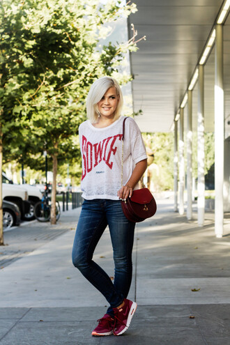wild one forever - fashion & style by kristin blogger shoes t-shirt jeans bag