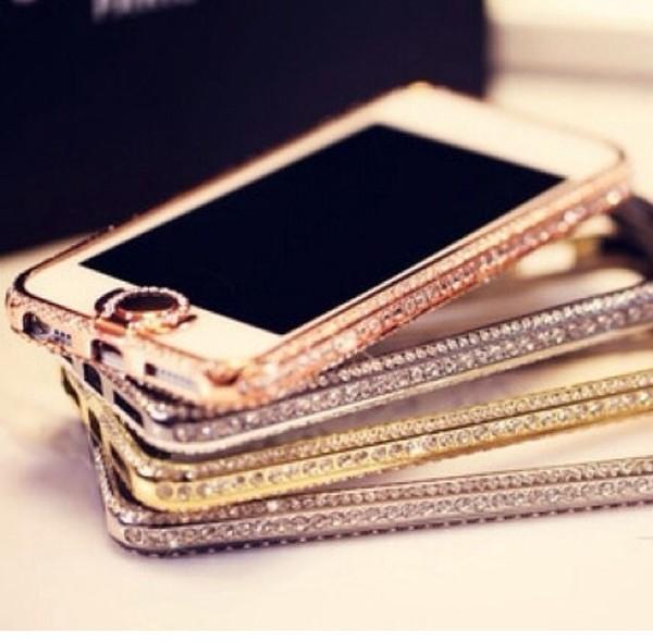 jewels iphone case iphone 5 case bumper crystal