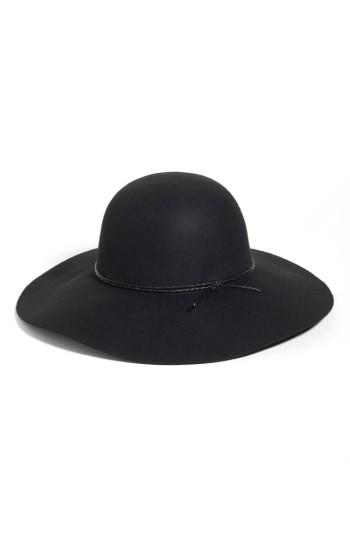 Halogen® Wool Floppy Hat | Nordstrom