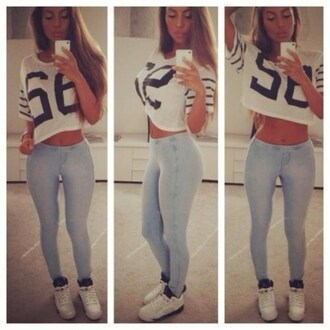 shoes 56shirt nikemaybe jordansmaybe top jeans