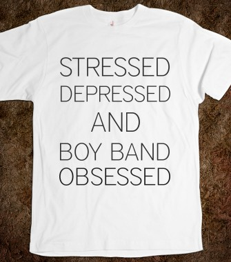 Stressed, depressed, and boy band obsessed - Fuchsia Clouds - Skreened T-shirts, Organic Shirts, Hoodies, Kids Tees, Baby One-Pieces and Tote Bags Custom T-Shirts, Organic Shirts, Hoodies, Novelty Gifts, Kids Apparel, Baby One-Pieces | Skreened - Ethical Custom Apparel
