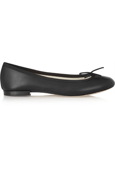The cendrillon leather ballet flats